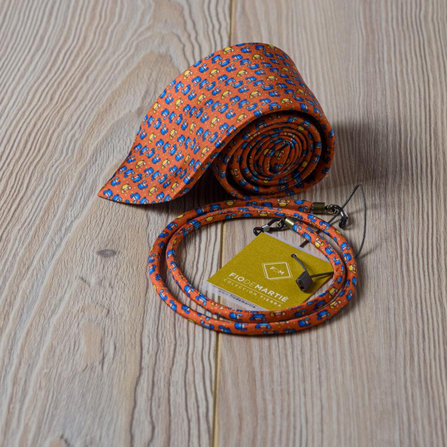 Corbata y cordón Fio de Martie centollas