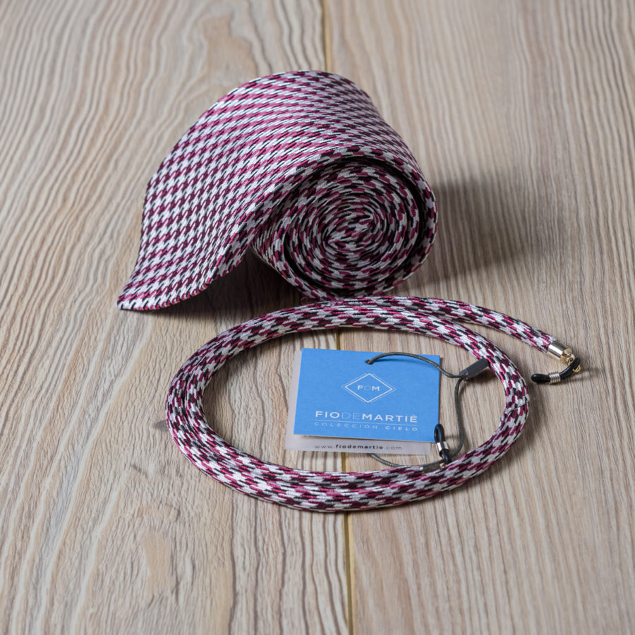 Cordón y corbata Fio de Martié estelar