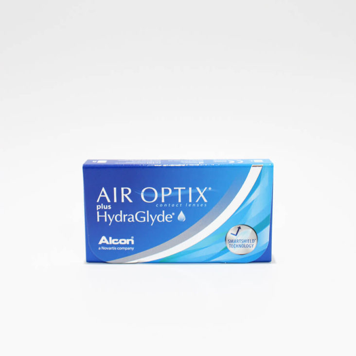 Lentillas de silicona Air Optix HydraGlyde