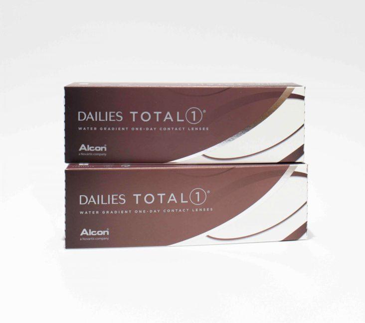 Pack Ahorro de Lentillas Dailies Total 1