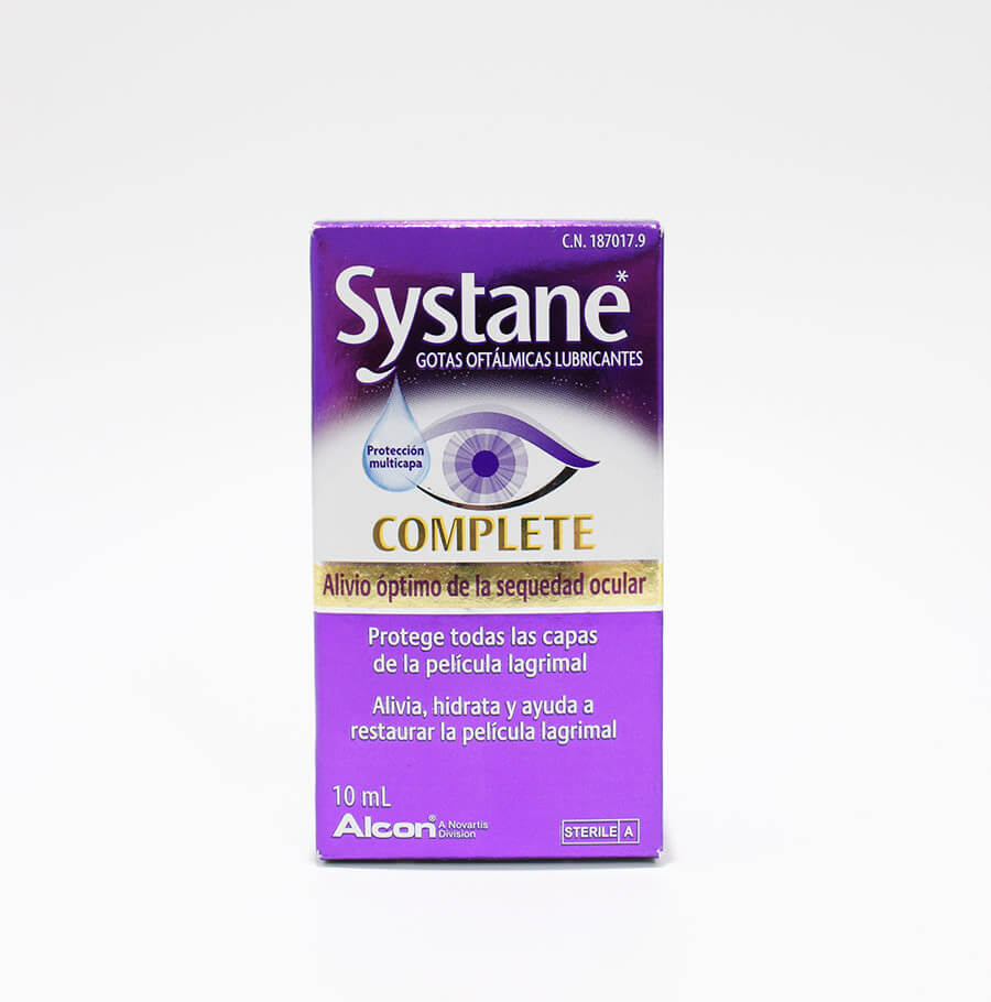 Lágrima artificial Systane Complete